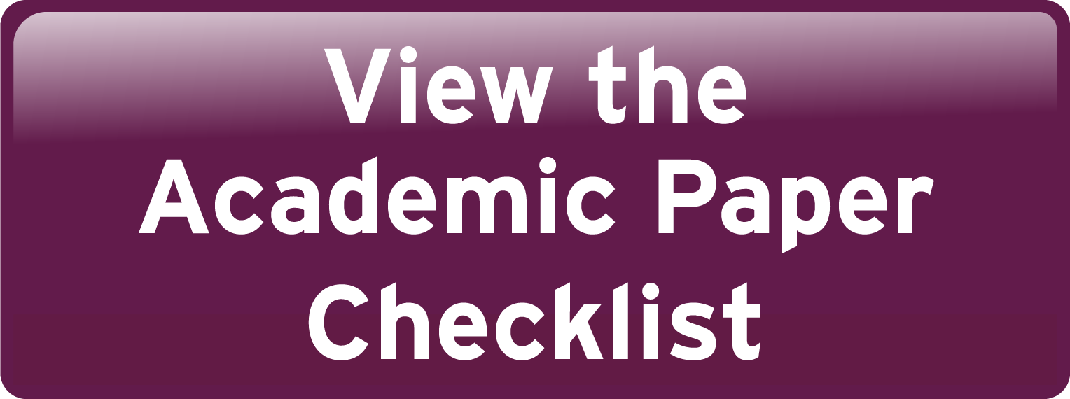 View the Academic Paper Checklist